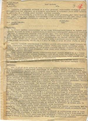 [prasa konspiracyjna] Meldunek wywiadu AK Lublin [1943]
