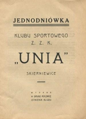 Jednodniówka Klubu Sportowego Z. Z. K.