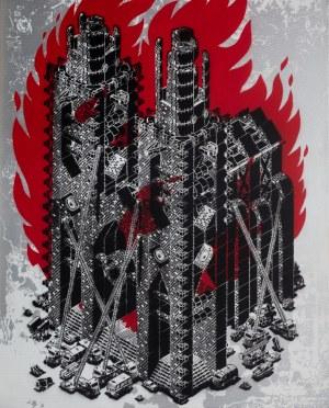 Mariusz Waras (M-City) (ur. 1978), Firestarter, 2020