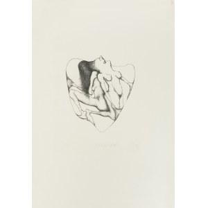 Alicja Wahl (1932-2020), W kole, 1975 r.