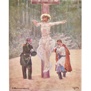 Jacek MALCZEWSKI (1854-1929), Scena religijna