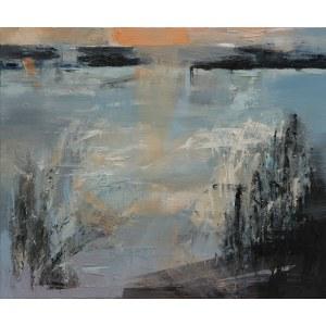 Kinga Wnuk-Moskalska (ur. 1975), Zmierzch nad jeziorem, 2020