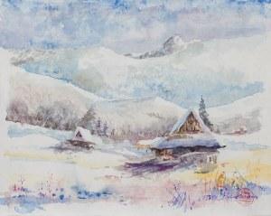 Piotr Bubak (ur. 1959), Zimowy krajobraz, 2014