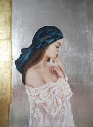 Patrycja Kruszyńska-Mikulska, Dziewczyna w chuście (2016)