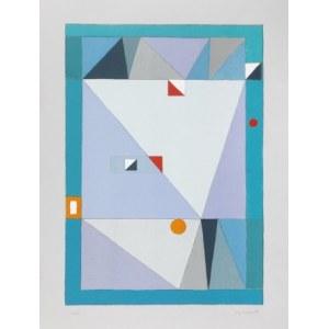 Jerzy Nowosielski, Abstrakcja niebieska 1997