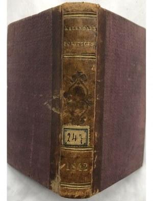 KALENDARZYK POLIT. RADZISZEWSKIEGO na rok 1842