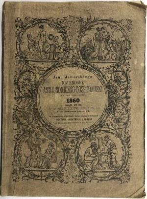 KALENDARZ ASTRONOM.-GOSPODARSKI NA ROK 1860