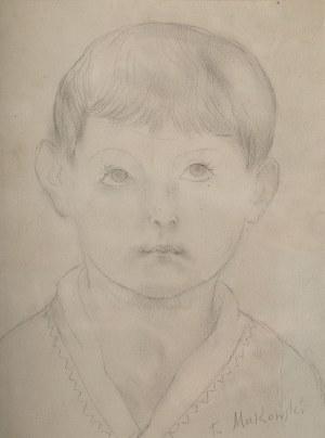 Tadeusz Makowski (1882 Oświęcim - 1932 Paryż), Portret chłopca
