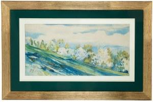 Julian Fałat (1853 Tuligłowy - 1929 Bystra), Wiosna w Bystrej, 1913 r.