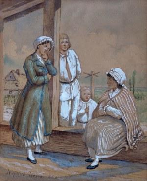 Wojciech Gerson (1831 Warszawa - 1901 tamże), Rodzina wieśniacza