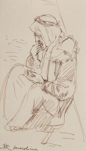 Wlastimil Hofman (1881 Praga - 1970 Szklarska Poręba), Żebrak