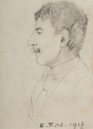 Bronisława Rychter-Janowska (1868 Kraków - 1953 tamże), Portret męski