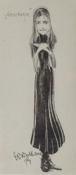 Witold Wojtkiewicz (1879 Warszawa-1909 tamże), Anastazja