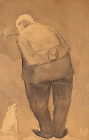 Tadeusz Waśkowski (1883-1966), Mężczyzna z psem