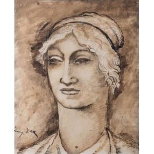 Eugeniusz Zak (1884 Mogilno – 1926 Paryż), Głowa kobiety, ok. 1912 r.
