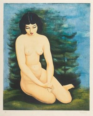Mojżesz Kisling (1891 Kraków - 1953 Sanary-sur-Mer), Akt kobiecy