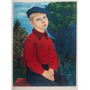 Mojżesz Kisling (1891 Kraków - 1953 Sanary-sur-Mer), Chłopiec w niebieskim berecie