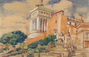Antoni Wippel (1882 Mikuszowice-1969), Pomnik Wiktora Emanuela w Rzymie