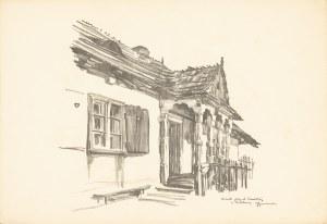 Gumowski Jan Kanty (1883-1946), Lublin. Domek przy ul. Szewskiej, 1917