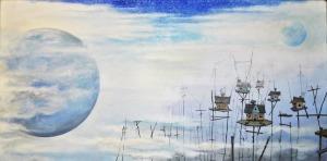 Dariusz Franciszek Różyc (1978), Maestitia, z cyklu Nie tak odległe... (2015)