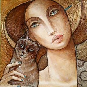 Joanna Misztal (1967), Mój błękitnooki kot (2016)
