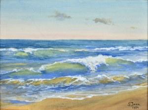 Soter JAXA - MAŁACHOWSKI (1867 - 1952), Morze, 1934