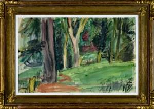 Henryk HAYDEN (1883-1970), W ogrodzie, 1948