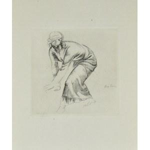 Eugeniusz ZAK (1884-1926), Pochylona kobieta