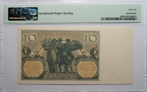 10 złotych 1929 - seria FW - PMG 66 EPQ