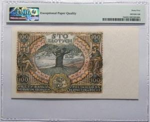 100 złotych 1934 - seria CB - PMG 65 EPQ