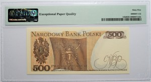 500 złotych 1982 - seria DM - PMG 65 EPQ