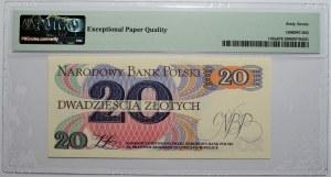 20 złotych 1982 - seria P - PMG 67 EPQ