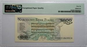 5000 złotych 1988- seria DC - PMG 66 EPQ