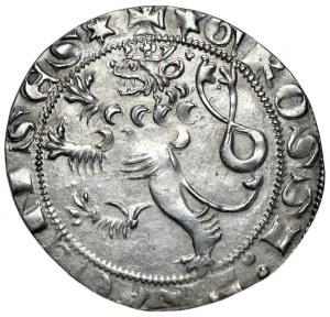 CZECHY - Wacław II (1278–1305) - Grosz praski - piękny egzemplarz