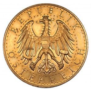 AUSTRIA - 100 szylingów 1930 - złoto 900