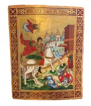 Ikona, św. Jerzy, Rosja