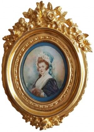 Monogramista SR, Portret kobiety (1827)