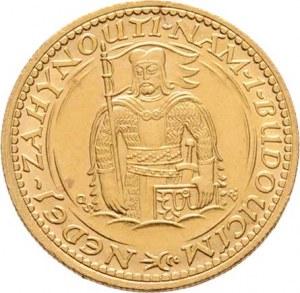 Československo, období 1918 - 1939, Dukát 1926 (raženo 58.669 ks), 3.487g, dr.hr.