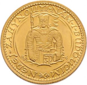 Československo, období 1918 - 1939, Dukát 1926 (raženo 58.669 ks), 3.492g