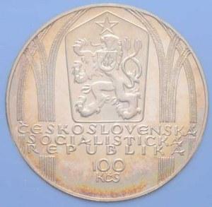 Československo 1961 - 1990, 100 Koruna 1980 - 650 let narození Petra Parléře,