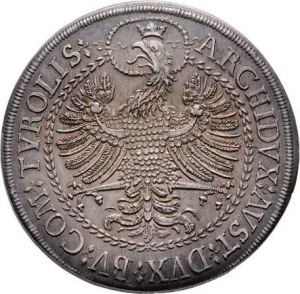 Leopold I., 1657 - 1705, 2 Tolar b.l., Hall, Nech.2361, M-A.156, 57.224g,