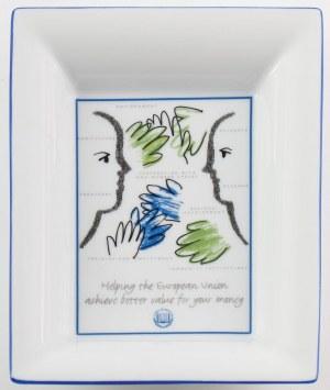 TALERZ PAMIĄTKOWY, EUROPEJSKI TRYBUNAŁ OBRACHUNKOWY, Francja, Limoges i Paryż Marc de Ladoucette, po 1993