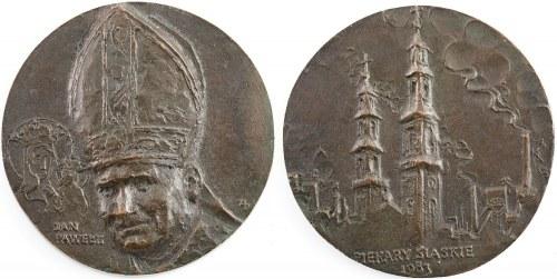 MEDAL, JAN PAWEŁ II W PIEKARACH ŚLĄSKICH, 1983