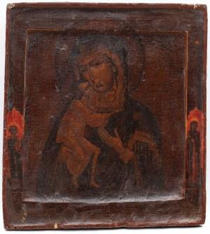 IKONA, MATKA BOŻA FIODOROWSKA, Rosja, XVIII w.