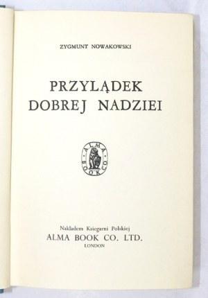 NOWAKOWSKI Zygmunt - Przylądek Dobrej nadziei. Proj. obwoluty D. Laskowska.