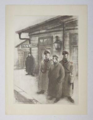 LEPECKI M. B. - Józef Piłsudski na Syberji. Drzeworyty S. Ostoi-Chrostowskiego. 12 litografii Z. Czermańskiego