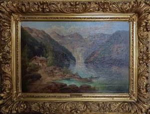 Otto WILDNER, XIX / XX w. (?), Górskie jezioro