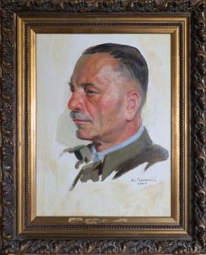 Edmund CZARNECKI (1906-1990), Portret Kazimierza Świtalskiego, współpracownika Józefa Piłsudskiego, 1934