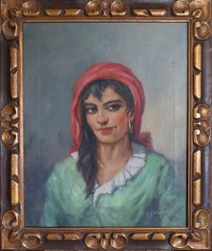 J. GILLOUME, XX w., Cyganka