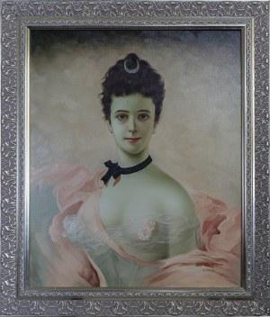 A. Graff, XX / XXI w., Portret czarnowłosej